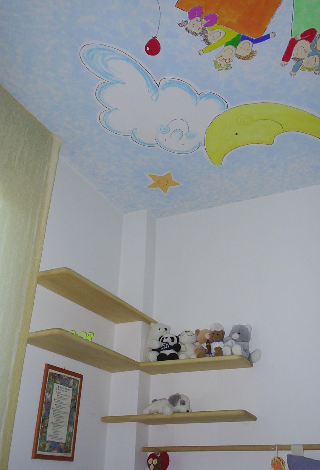 Decori cameretta neonato decorazione camera scatola - Decorazioni camera bimbi ...